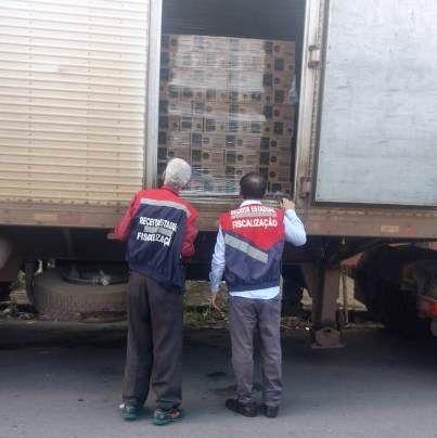 Fiscais atuam em ATACADISTAS DE CONTAGEM/MG e encontram carga de R$100 mil sem documento fiscal