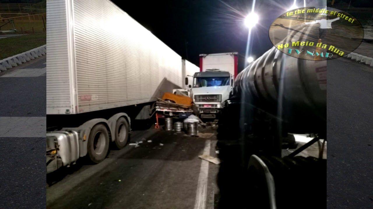 ACIDENTE grave BR 381: 16 veículos atropelados. FLAGRANTE de carros e caminhões se amontoando