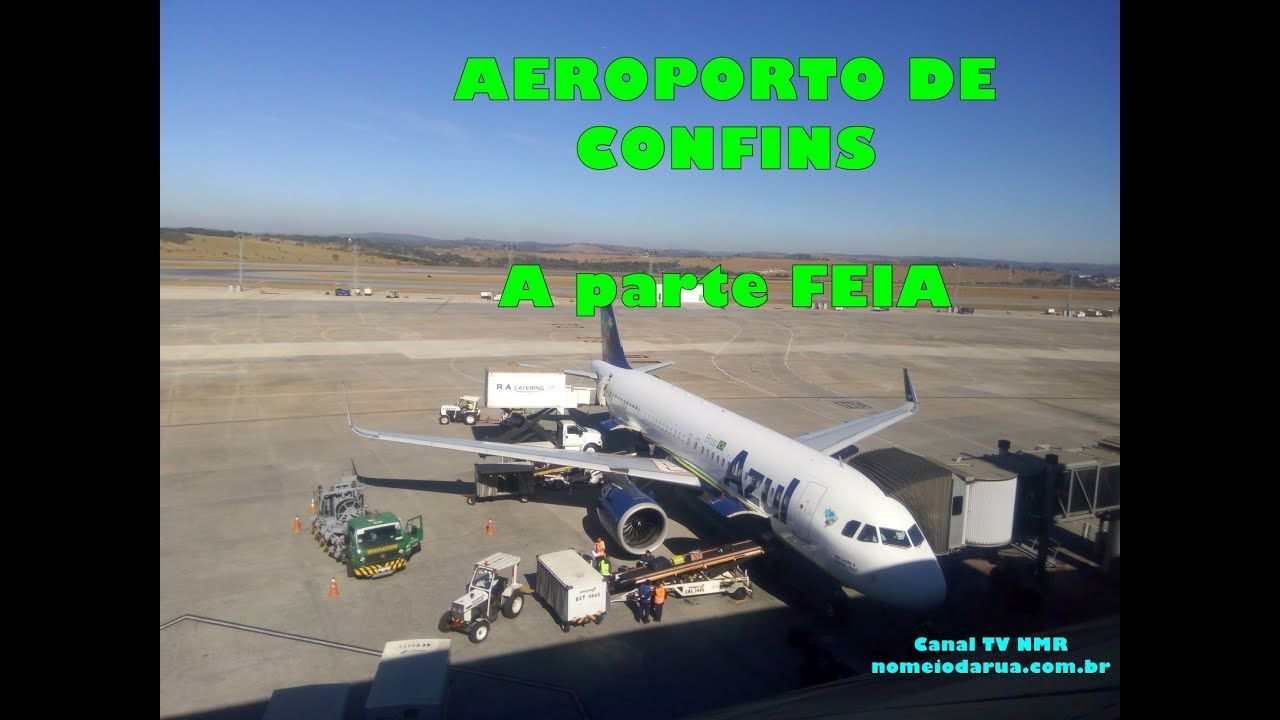 Aeroporto Confins! Carros Elétricos e a parte FEIA: Terraço visão panorâmica, decolagem de 2 em 2min