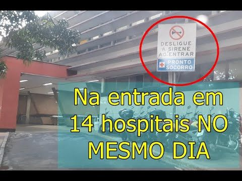 Area Hospitalar de Belo Horizonte. Passei por 14 HOSPITAIS. Um registro geo-histórico espetacular