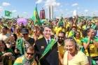 Atos em apoio ao governo ocorrem em diversas cidades do país: ´Capitão, estamos com você!´