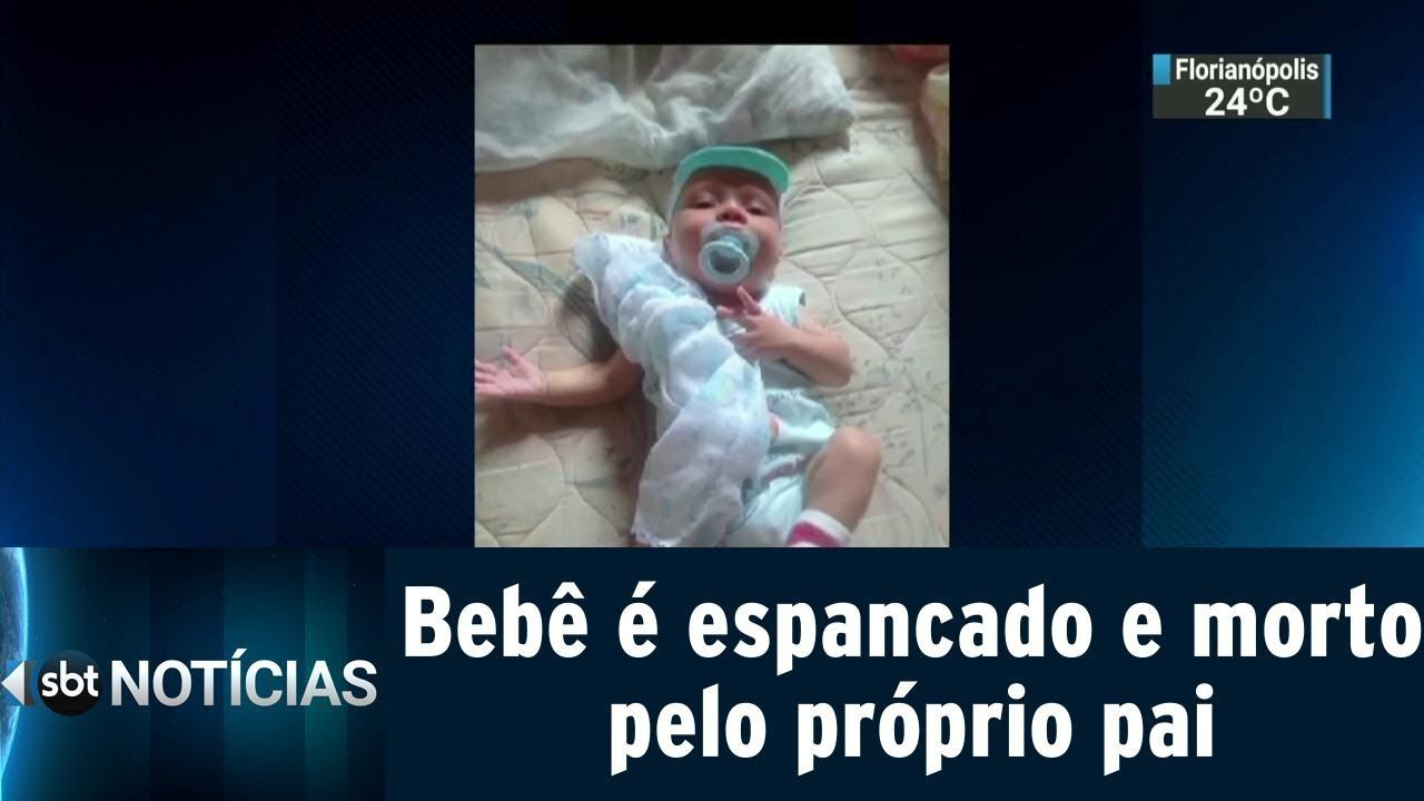 Bebê de 3 meses é espancado e morto pelo próprio pai