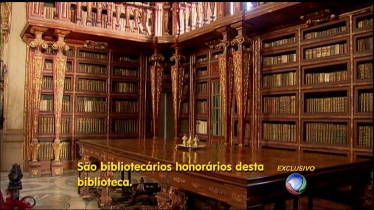 BIBLIOTECA DE COIMBRA: Morcegos ajudam a preservar uma das bibliotecas mais antigas do mundo - Tv Record