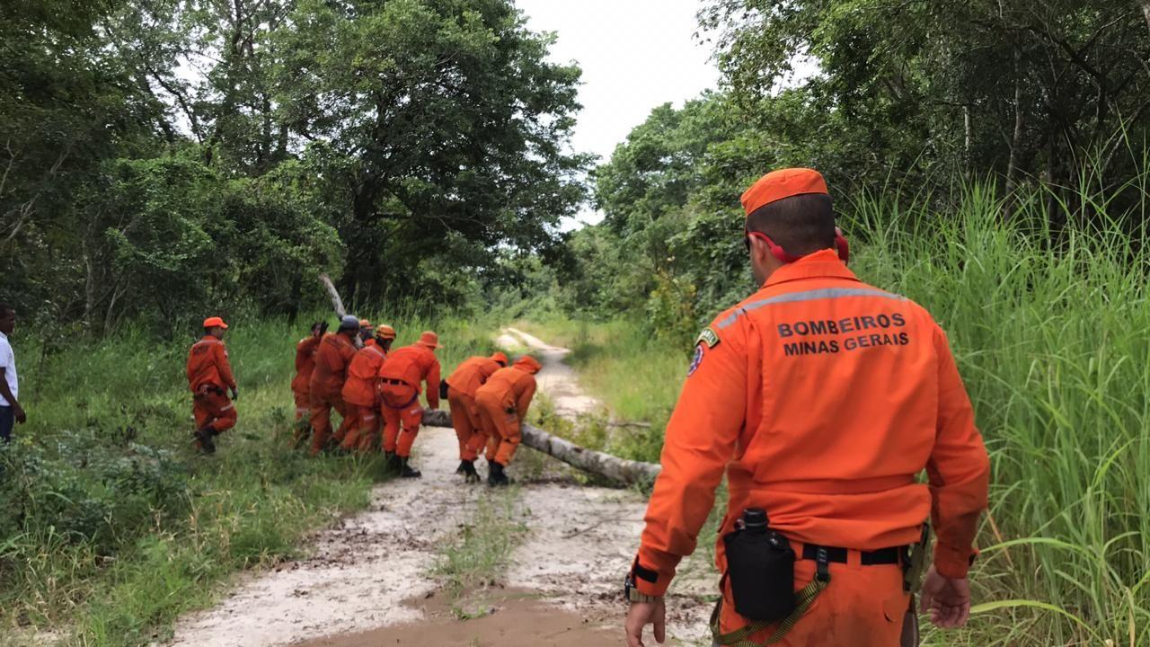 Bombeiros mineiros na Operação Moçambique