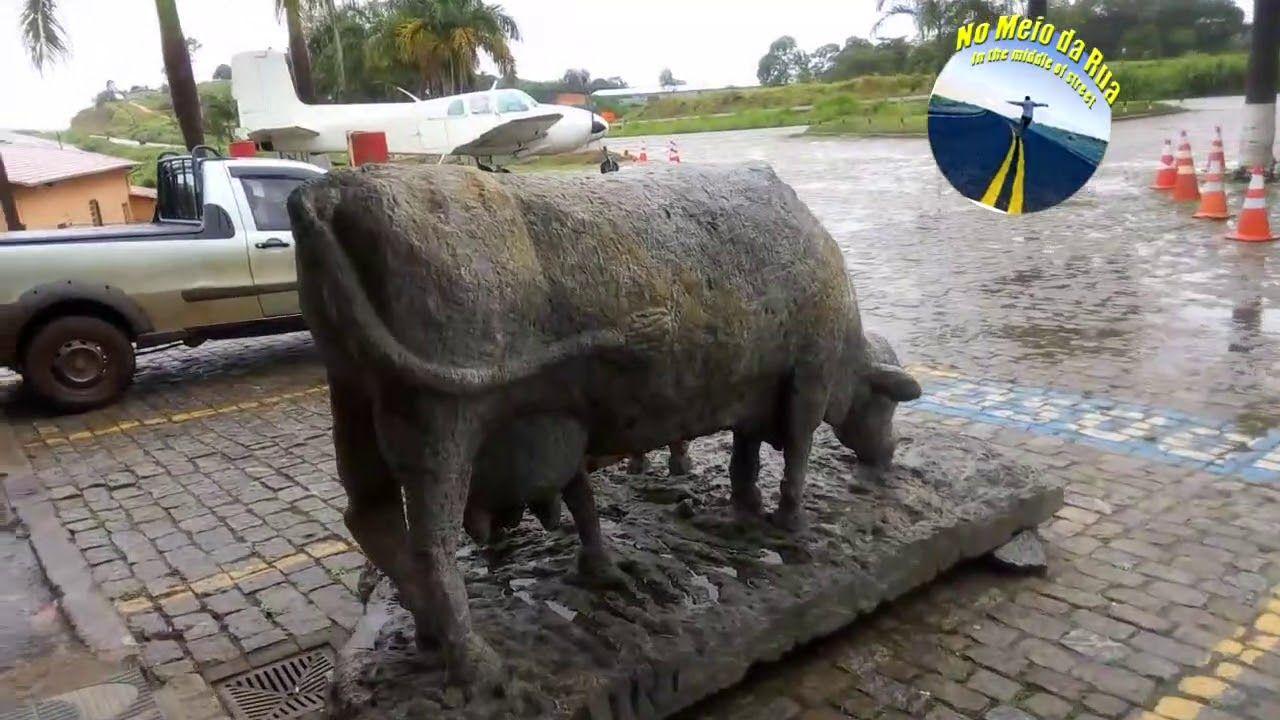 BR-381: Avião teve que descer na rodovia e ficou na história perto entrada Itabira - Parada Campolar