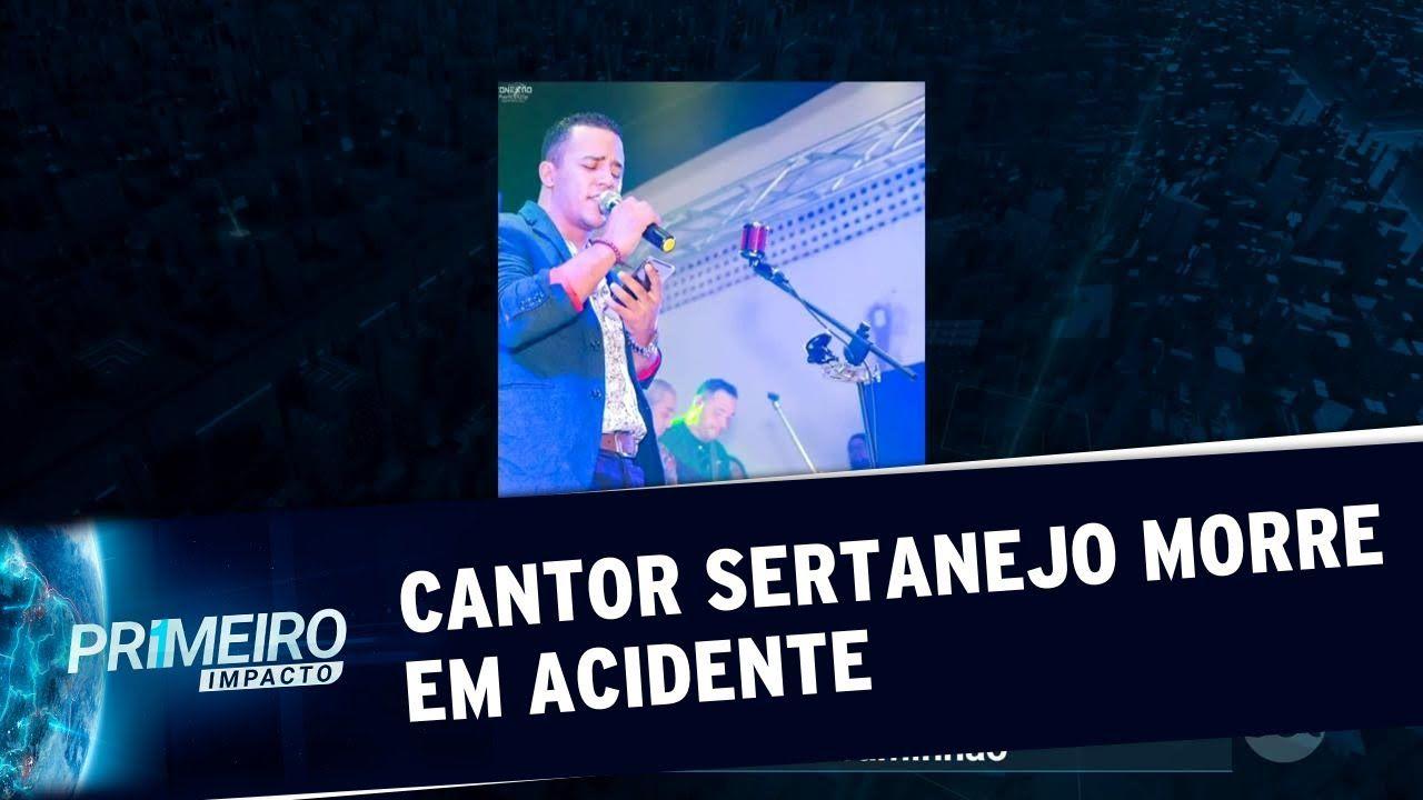 Cantor sertanejo Bruno Carvalho morre em acidente grave no Mato Grosso