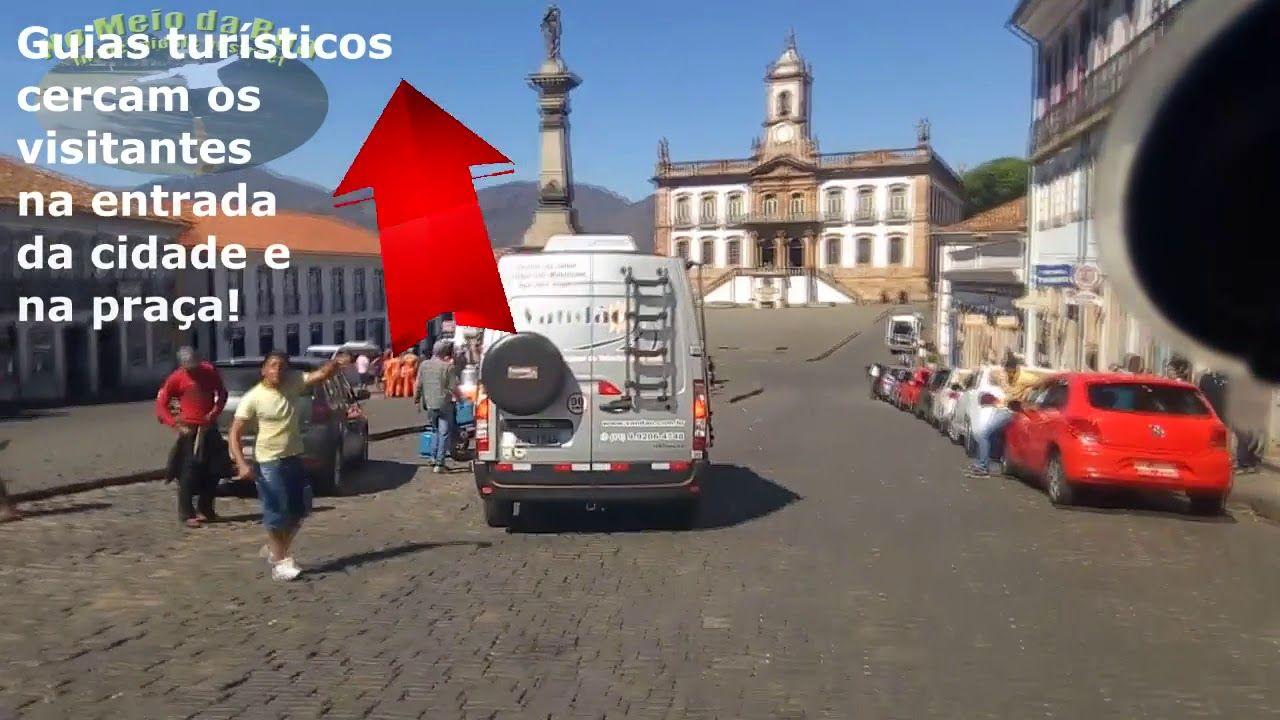 Chegando a OURO PRETO: Rodoviária. Pç Tiradentes, largo e ruas ´pé-de-moleque´ - Parte 1
