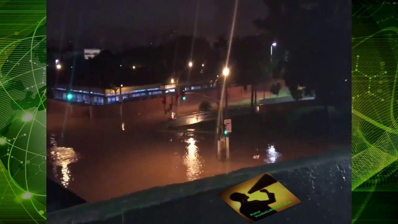 Chuva intensa ARRASA Grande São Paulo. Santo André ficou ilhada!