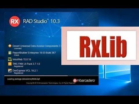 Como instalar os componentes RX no Delphi 10.x - Tokyo, Berlin, Rio, Seatle