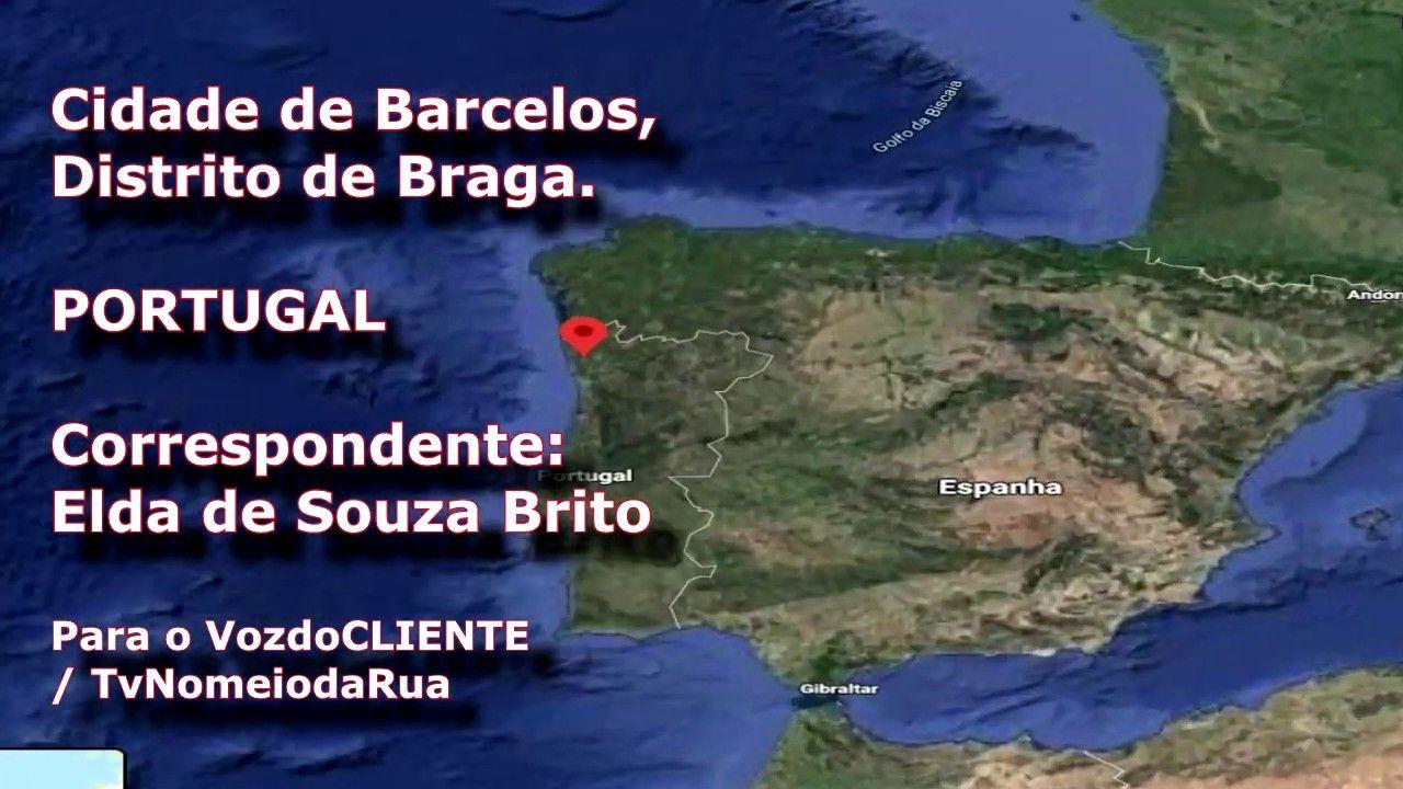Conheça Barcelos, Portugal: Cidade Fantasma em meio pandemia, como estão as ruas - Por Elda Brito