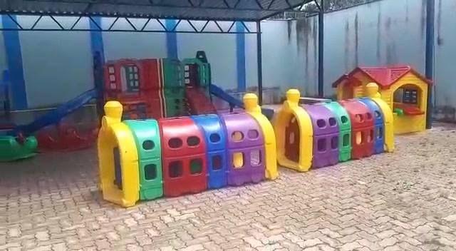 Criminosos arrombam e roubam televisão, microondas e cabeamento de UMEI Infantil no Parque São João em Contagem/MG. As aulas estão suspensas