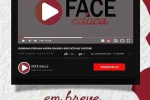Cursinho da Face terá aulas on-line de preparação para o Enem durante a quarentena