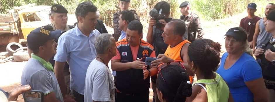 ´Estrada opcional´ passa dentro da VALE. Defesa Civi divulga novas informações sobre acesso a Brumadinho/MG