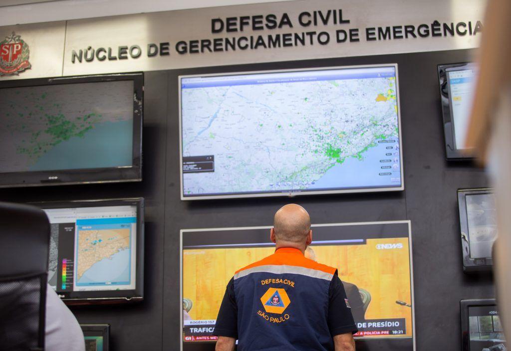 Fortes chuvas devem atingir estado de São Paulo esta semana: Veja alerta da Defesa Civil / SP