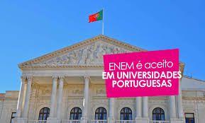 Enem passa a ser aceito em 49 instituições de ensino superior em Portugal