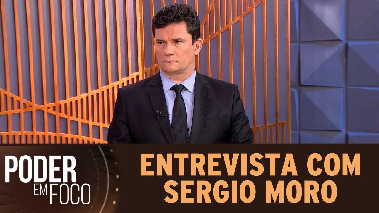 Entrevista com Sergio Moro ao SBT - Poder em Foco