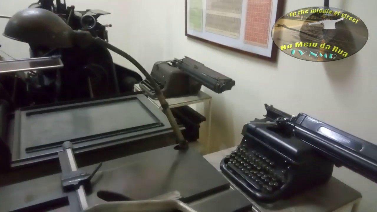 Fui ver prédio da Imprensa Oficial... Alguém quer comprar essa impressora??