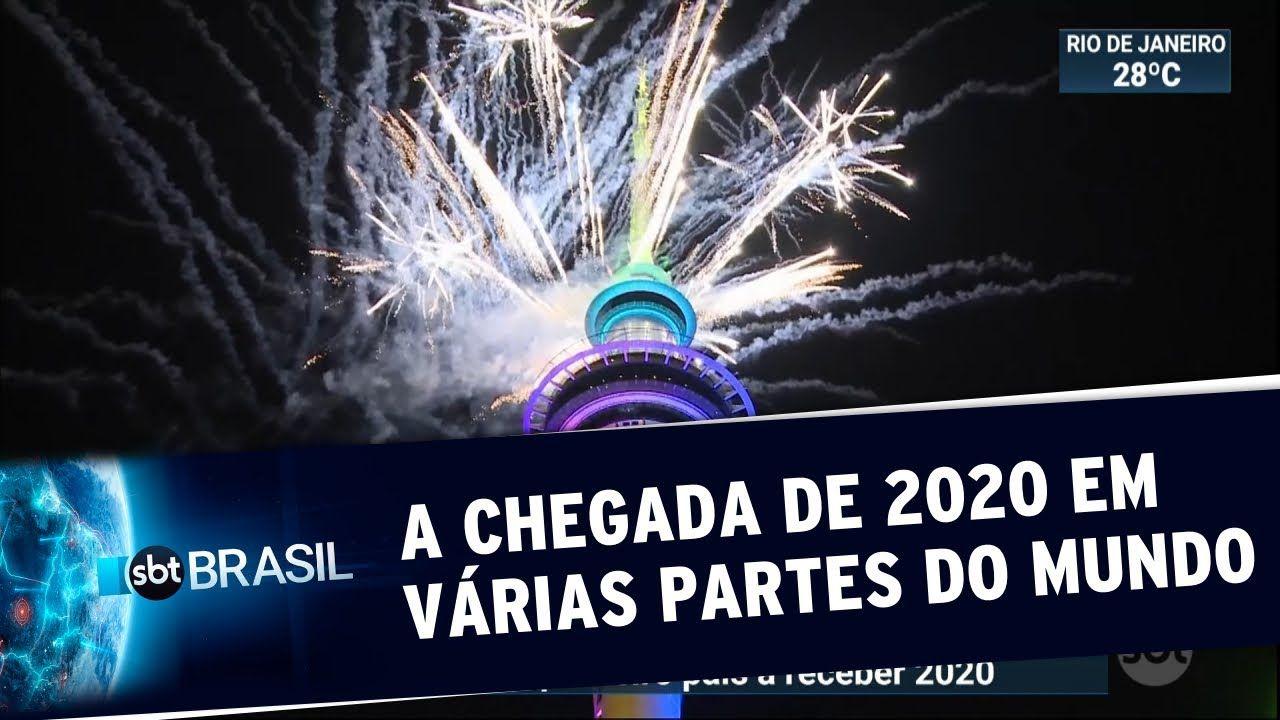Já é 2020! Veja como foi a chegada do novo ano em Sydney, Dubai e em outras partes do mundo - SBT