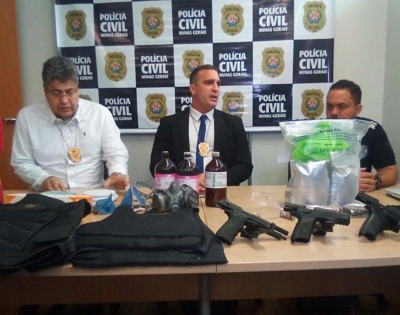 MANSÃO do refino: Polícia Civil desmonta laboratório de drogas em mansão de Lagoa Santa