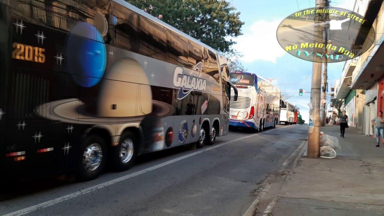 ÔNIBUS DE TURISMO! Protesto +50 LINDOS ônibus, Eldorado, Contagem/MG