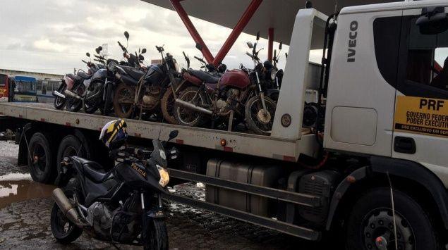 Operação Duas Rodas da PRF aprrende mais de 180 motocicletas em apenas 12 dias em AL