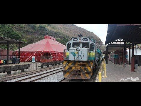 OURO PRETO: Memorial e Estação Ferroviária: Trem Vale para Mariana - Parte 2