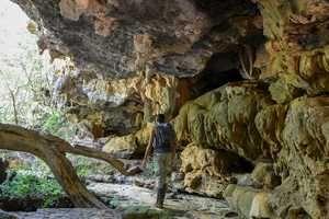 Pesquisa do ICA relaciona esporte em cavernas a bem-estar. O Brasil tem 18 mil cavernas registradas