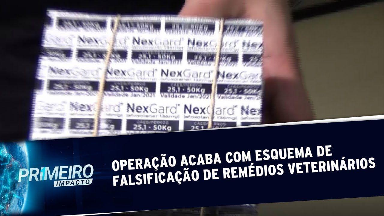 Polícia Civil prende 10 por falsificação de remédios veterinários
