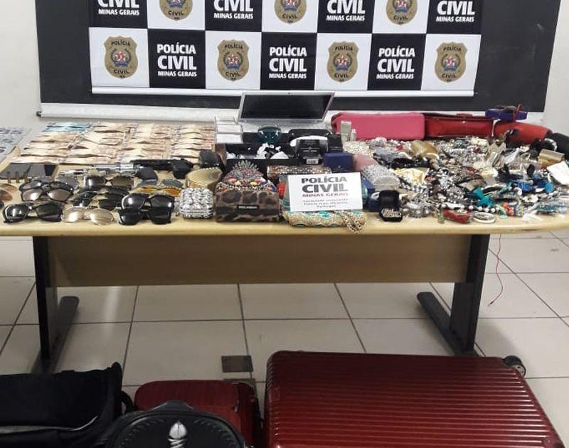 Polícia Civil prende dupla suspeita de roubo a casa de luxo na capital