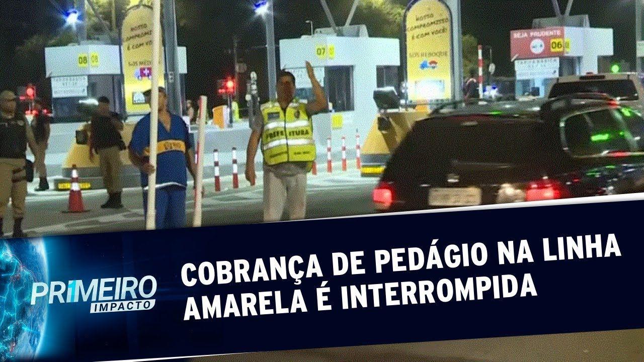 Prefeitura do Rio interrompe cobrança de pedágio na Linha Amarela (lucro indevido)