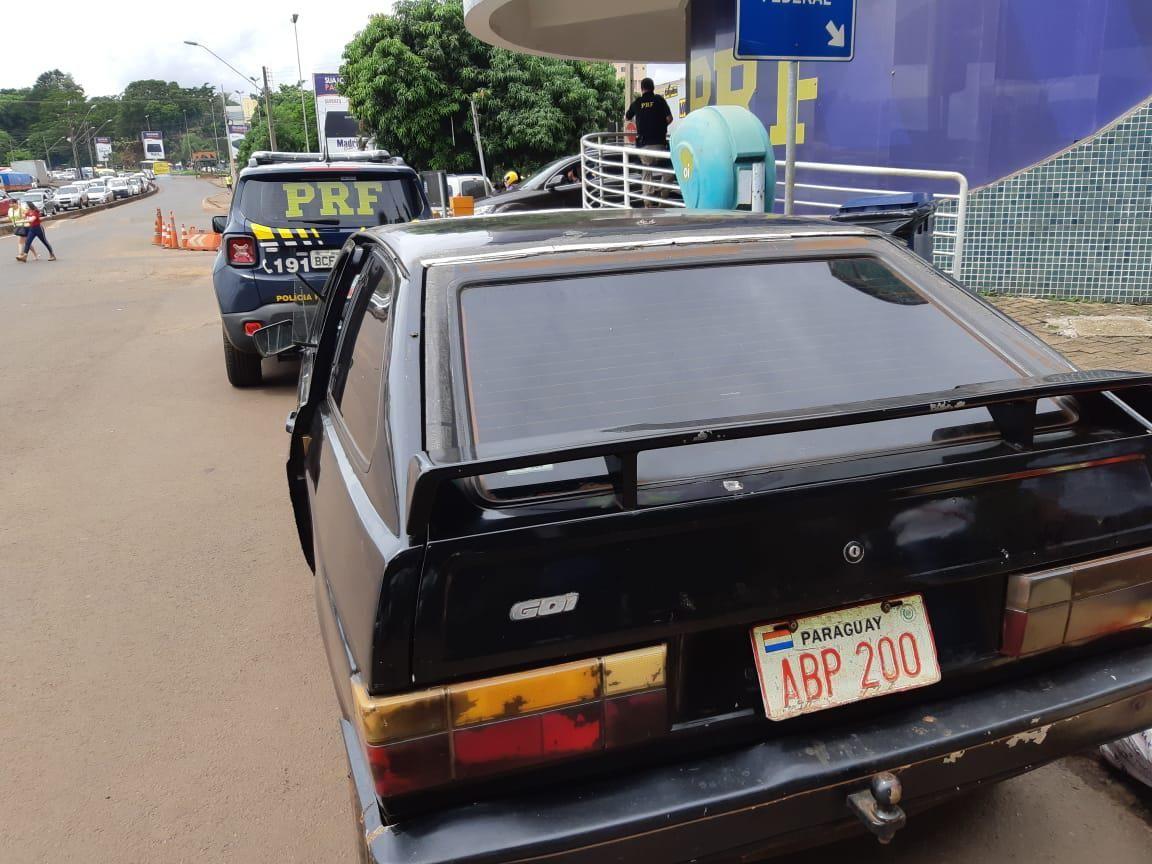 PRF recupera carro roubado há 30 anos. O dono já faleceu!