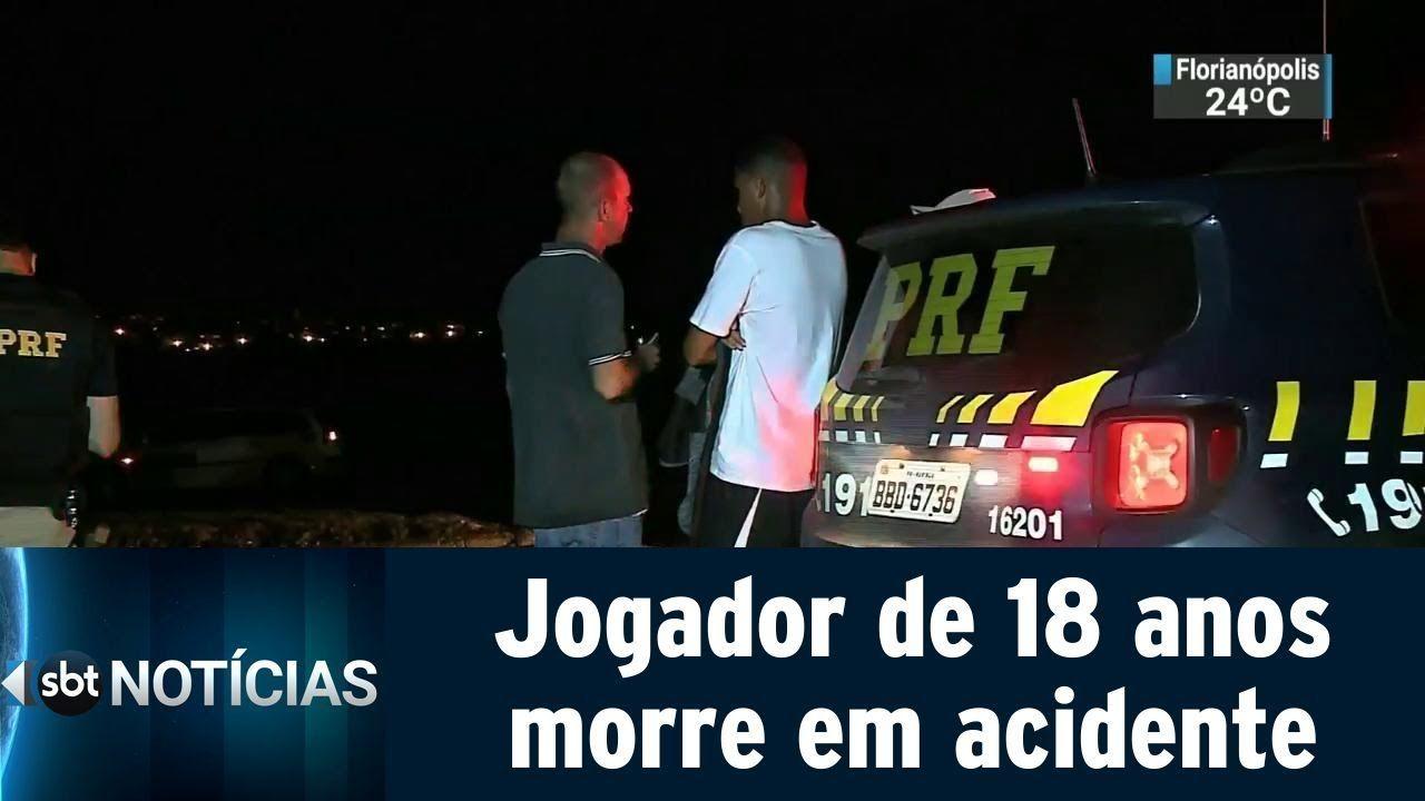 Pulou da carroceria e foi atropelado por caminhão! Jogador de futebol de 18 anos morre em acidente no Paraná