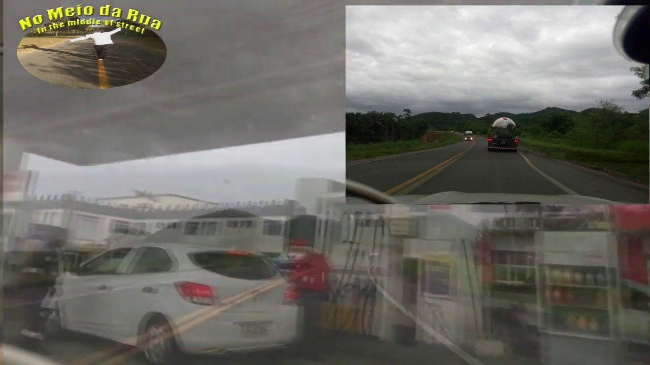 Qual é a melhor rota dos MINEIROS para GUARAPARI? Assista estre trecho da BR 101 entrocamento BR 262. E o flagrante de um QUASE ACIDENTE!