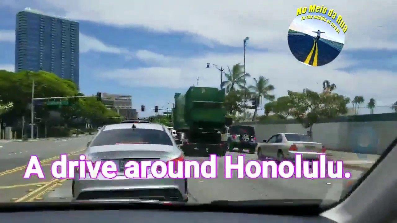 Que tal uma volta pela cidade de HONOLULU, no Havaí ? Conheça trechos da cidade Pacífico dos EUA