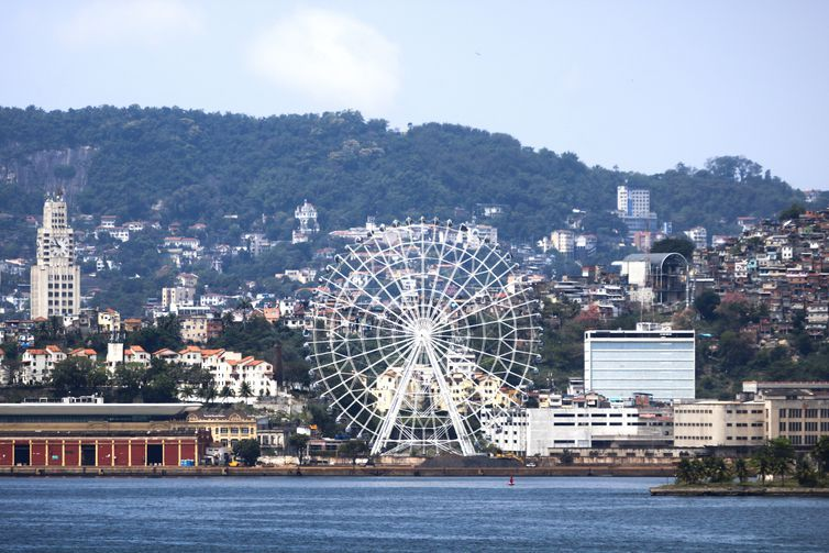 Rio inaugura maior roda-gigante da América Latina em dezembro. Rio Star tem 88 metros!