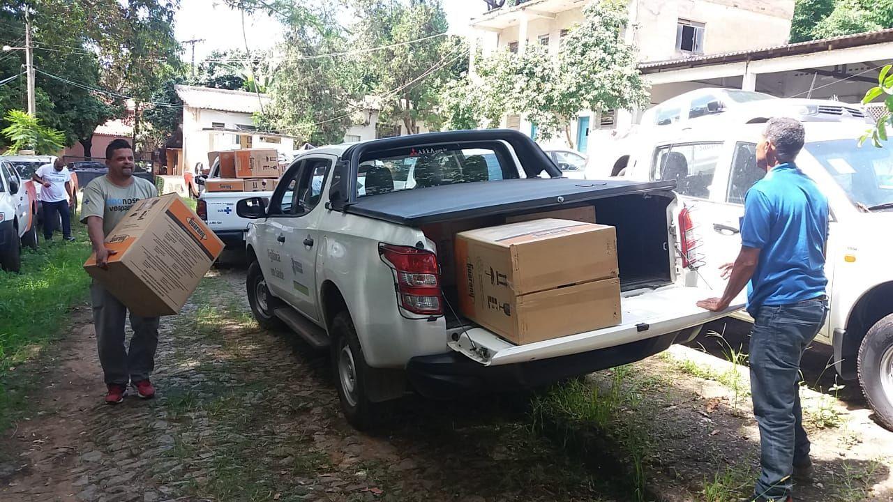 Secretaria de Saúde inicia entrega de 3.550 equipamentos para controle do Aedes em Minas. Minas tem o maior número de casos este ano!