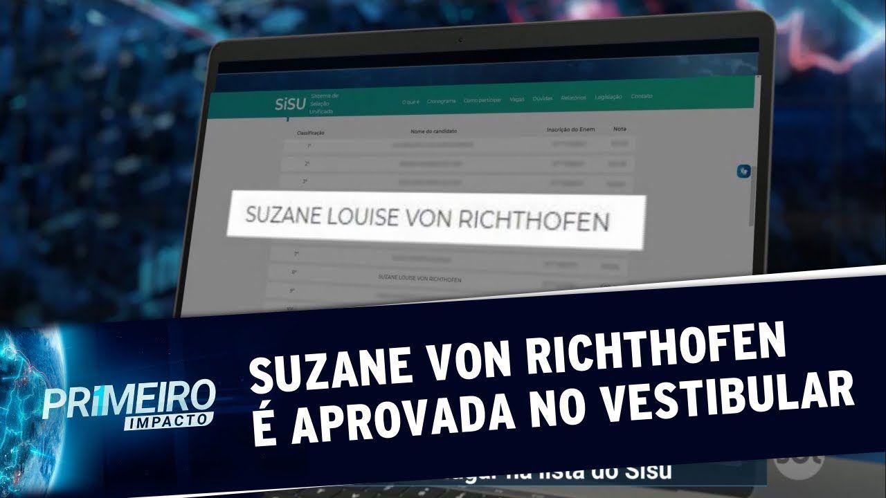 Suzane Von Richthofen é aprovada no Sisu para cursar turismo - SBT