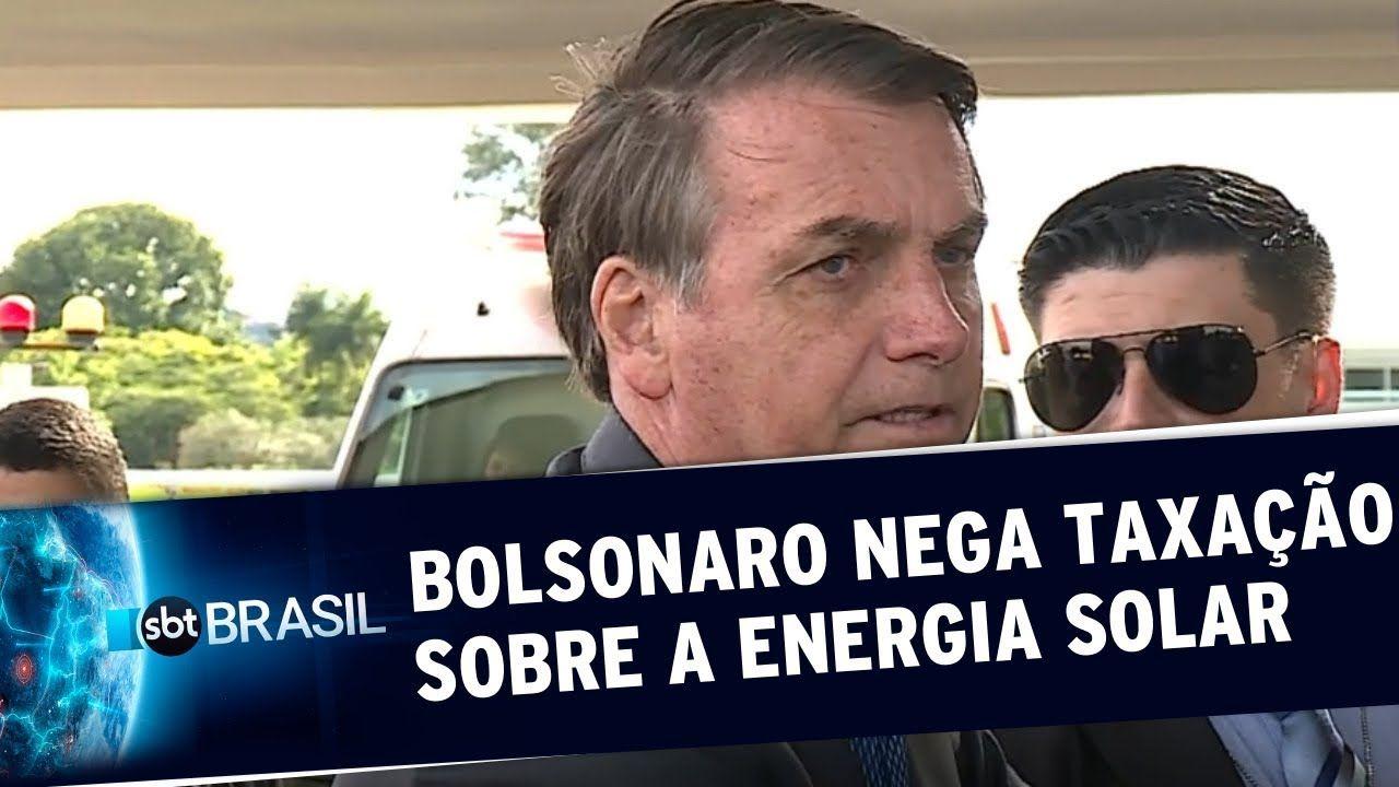 TAXA do SOL: Presidente Jair Bolsonaro promete que taxa sobre energia solar não será cobrada!