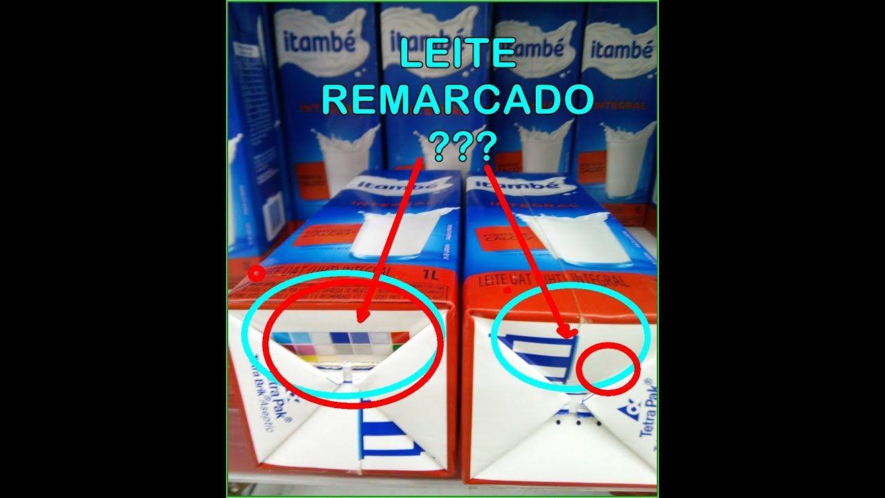 VÍDEO: LEITE REAPROVEITADO? As caixinhas coloridas indicam quantas vezes o leite VOLTOU ´A FÁBRICA ???